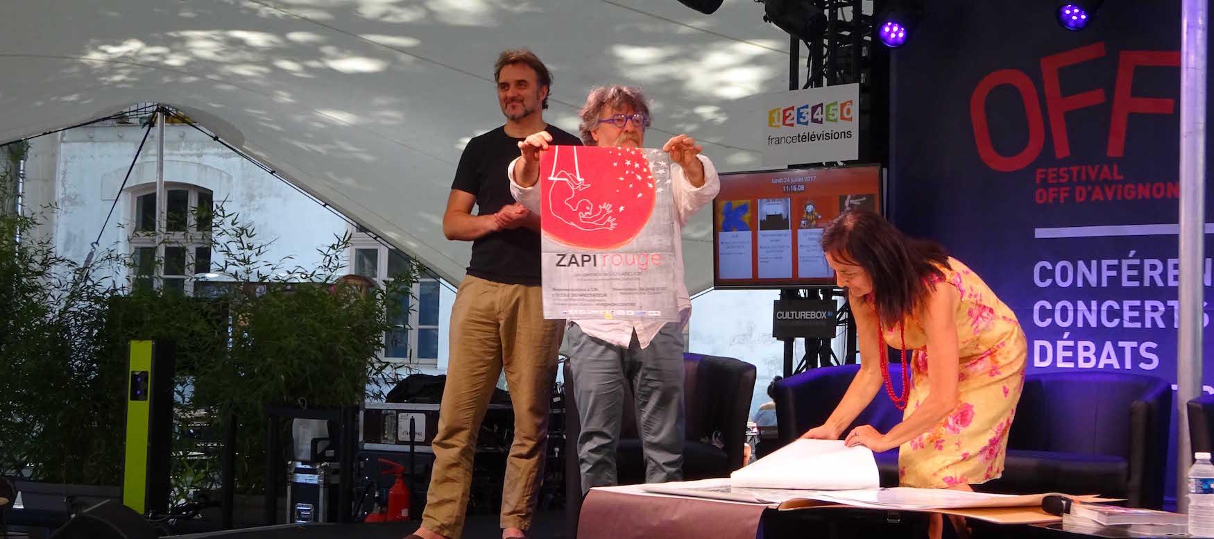 Concours de la plus belle affiche du 0FF17 : «Zapi rouge» primée!
